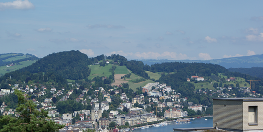 6003 Luzern, Wohnen hoch über Luzern