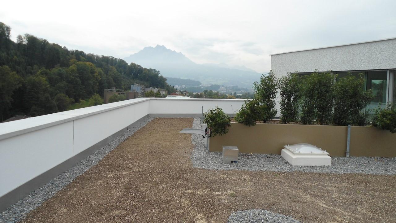 6006 Luzern, Exklusive 5½ Zimmer-Attikawohnung in Seenähe