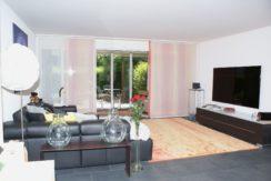 Schöne 4.5-Zimmer Gartenwohnung mit Wintergarten und mit eigener Sauna